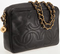 Luxury Accessories:Bags, Chanel Black Caviar Leather Large Camera Bag with Gold Hardware....