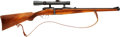 Long Guns:Bolt Action, 6.5x54 MS Mannlicher-Schoenauer Model 1903 Bolt Action Carbine withTelescopic Sight, owned by Warren Page.. ...