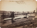"""Photography:Official Photos, """"U. S. Corral. North side of River. / Chattanooga, Tenn. / Robt. W.Wetherell / Capt and A. Q. M. Vols.""""..."""