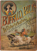Antiques:Toys, Buffalo Bill Wild West: Rare German Printed Pop-up Book....