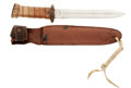 """Military & Patriotic:WWII, U.S. Model 1913 """"Patton"""" Cavalry Saber Converted to a Fighting Knife...."""