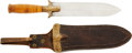 Military & Patriotic:Indian Wars, US Army Model 1880 Hunting Knife ...