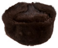 Political:Presidential Relics, Gerald Ford: Russian Fur Hat....