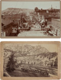 Photography:Cabinet Photos, Boudoir Photographs:Cripple Creek & Silver Creek Basin (Ouray),Colorado,... (Total: 2 Items)