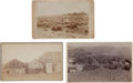 Western Expansion:Goldrush, Boudoir Photograph: Three Inez and Buffalo, Wyoming, and Butte, Montana.... (Total: 3 Items)