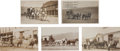 Western Expansion:Goldrush, Real Photo Postcards: Five Montana Stagecoach Scenes... (Total: 5Items)