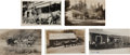 Transportation:Railroad, Real Photo Postcards: Five California Stagecoach Scenes,... (Total:5 Items)