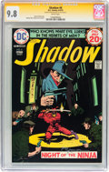 Bronze Age (1970-1979):Miscellaneous, The Shadow #6 Signature Series (DC, 1974) CGC NM/MT 9.8 Whitepages....