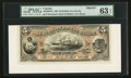 Canadian Currency: , Halifax, NS- The Merchants' Bank of Halifax $5 July 1, 1880 Ch # 465-20-02FP Face Proof. ...