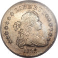 Early Dollars, 1799 $1 Irregular Date, 15 Stars Reverse AU55 PCGS. B-4, BB-153,R.4....