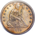 Seated Quarters, 1889 25C MS67 PCGS....