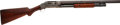 Shotgun:Slide Action, 12 Gauge Winchester Model 1897 slide action shotgun as retailed by Kirkwood Brothers. ...