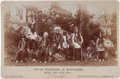 Photography:Cabinet Photos, Cabinet Photo of Indian Group with Annie Oakley....