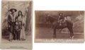 Photography:Cabinet Photos, Two Cabinet Photos, Irving Family. ... (Total: 2 Items)