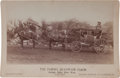 Photography:Cabinet Photos, Cabinet Card, Stagecoach. ...