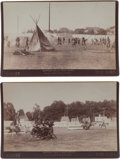 Photography:Cabinet Photos, Two Large Arena Photographs.... (Total: 2 Items)