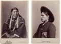 Photography:Ambrotypes, Two Cabinet Photos. ... (Total: 2 Items)