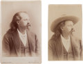 Photography:Cabinet Photos, Pair of Buffalo Bill Cabinet Photos. ... (Total: 2 Items)