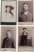 Photography:Cabinet Photos, Four Cabinet Photos, Behind the Scenes at the Wild West.... (Total:4 Items)