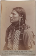 Photography:Cabinet Photos, Cabinet Photo, Little Chief.... (Total: 2 Items)