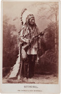 Photography:Cabinet Photos, Sitting Bull Cabinet Photo. ...