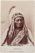 Photography:Cabinet Photos, Sitting Bull Cabinet Photo....