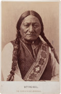 Photography:Cabinet Photos, Cabinet Photo of Sitting Bull. ...