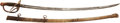Edged Weapons:Swords, U.S. Model 1860 Light Cavalry Saber Manufactured by Ames....