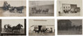 Western Expansion:Goldrush, Real Photo Postcards: Six Montana Stagecoach Scenes. ... (Total: 6Items)