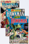 Silver Age (1956-1969):Superhero, Hawkman-Related Group (DC, 1961-64) Condition: Average FR/GD.... (Total: 7 Comic Books)
