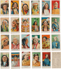 Antiques:Toys, Buffalo Bill Wild West: Two Sets of Carmels Cards... (Total: 44Items)