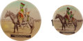 Western Expansion:Cowboy, Miller Brothers' 101 Ranch: Celluloid Souvenirs.... (Total: 3Items)