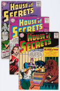 Silver Age (1956-1969):Mystery, House of Secrets Group (DC, 1957-58) Condition: Average GD....(Total: 6 Comic Books)