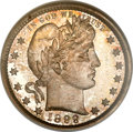 Proof Barber Quarters, 1899 25C PR67 NGC....