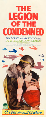 """The Legion of the Condemned (Paramount, 1928). Insert (14"""" X 36"""")"""