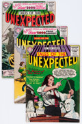 Silver Age (1956-1969):Horror, Tales of the Unexpected Group (DC, 1956-57) Condition: AverageVG/FN.... (Total: 6 Comic Books)