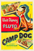 "Movie Posters:Animation, Camp Dog (RKO, 1950). One Sheet (27"" X 41"").. ..."