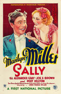 "Movie Posters:Musical, Sally (First National, 1929). One Sheet (27"" X 41"").. ..."