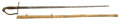 Edged Weapons:Swords, American Eaglehead Officer's Straight Sword Doubtless The Work Of F. W. Widmann C. 1830...