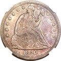 Seated Dollars, 1849 $1 MS62 NGC....