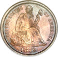 Seated Dimes, 1879 10C MS67 NGC....