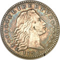 Early Half Dimes, 1794 H10C -- Scratched -- ANACS. XF Details, Net VF30. V-3, LM-3,R.4....