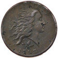 Large Cents, 1793 1C Wreath Cent, Vine and Bars Fine 15 PCGS. S-5, B-6, R.4....