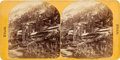 "Photography:Stereo Cards, Albumen Stereoview: ""Emma Mine, Little Cottonwood Canón"" Near Alta, Utah, Circa 1870-1875...."