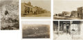 Photography:Official Photos, Five Real Photo Postcards: North Dakota Street Scenes and Indian Related Views, Circa 1903-1909.... (Total: 5 Items)