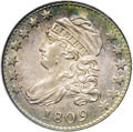 Bust Dimes: , 1809 10C MS64 PCGS. JR-1, R.4. The only known die variety for the year. This is the first year of issue for the Capped Bust...