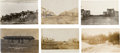 Photography:Official Photos, Six Real Photo Postcards: North Dakota Towns and Cowboys, Circa 1908-1912.... (Total: 6 Items)