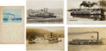 Photography:Official Photos, Four Real Photo Postcards: Ohio and West Virginia Riverboats, Circa 1880-1910.... (Total: 5 Items)