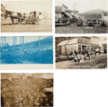 Western Expansion:Goldrush, Real Photo Postcards: Five Idaho Scenes.... (Total: 5 Items)
