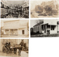 Western Expansion:Goldrush, Real Photo Postcards: Five Oregon Scenes.... (Total: 5 Items)
